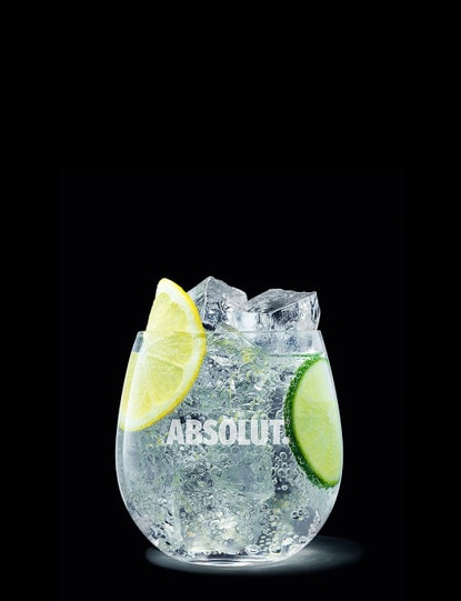 absolut citron soda