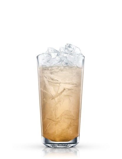 whiskey collins against white background