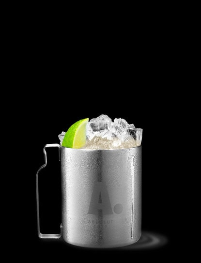 absolut zest berry mule