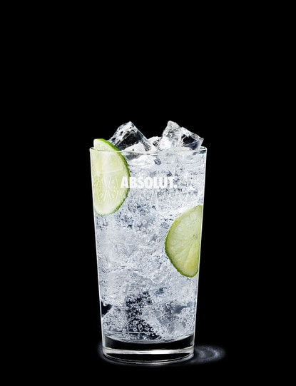 absolut vodka tonic