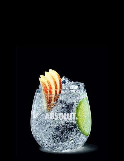 Absolut Apple Soda