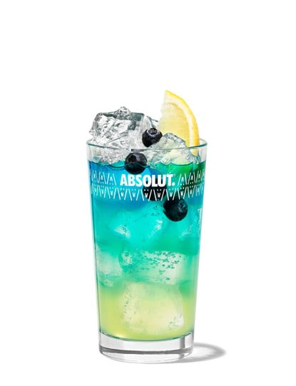 Absolut Blueberry Fizz