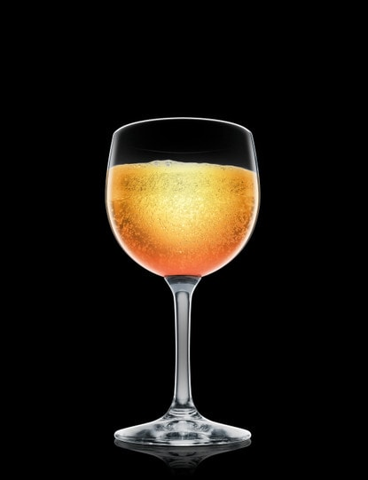 absolut peach bellini
