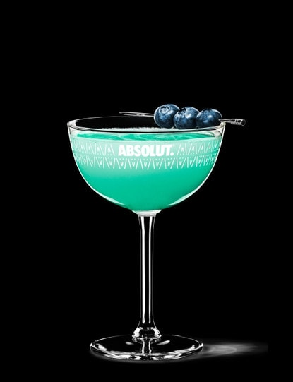 blue raspberry martini