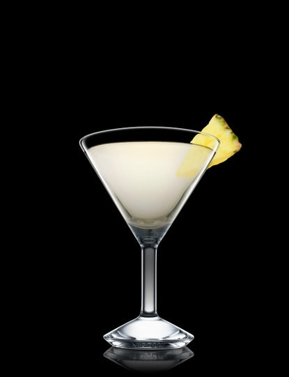 absolut peppar pineapple martini