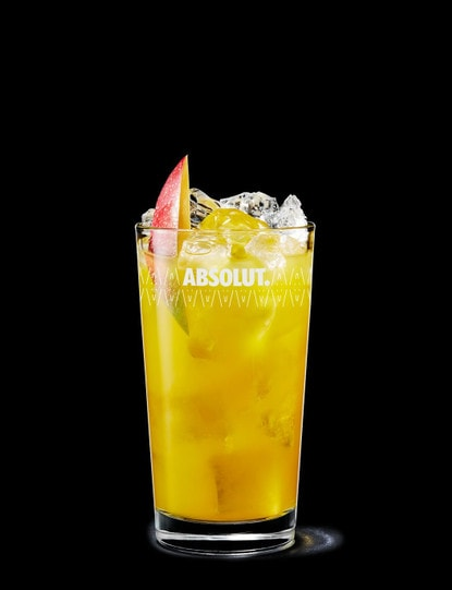 absolut mango with orange juice