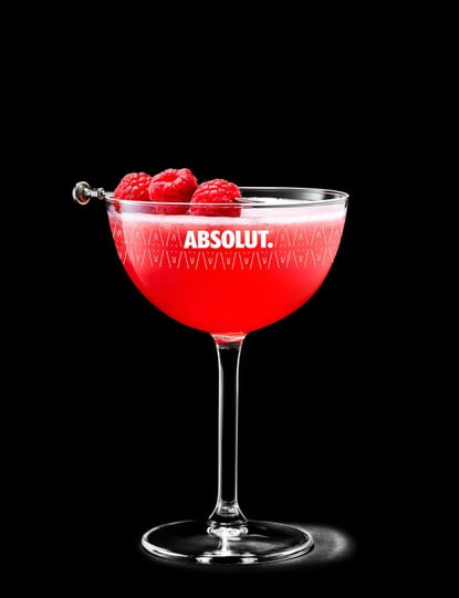 Absolut Raspberri Martini