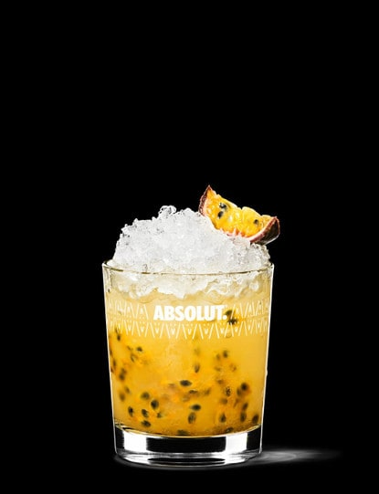 absolut passion fruit