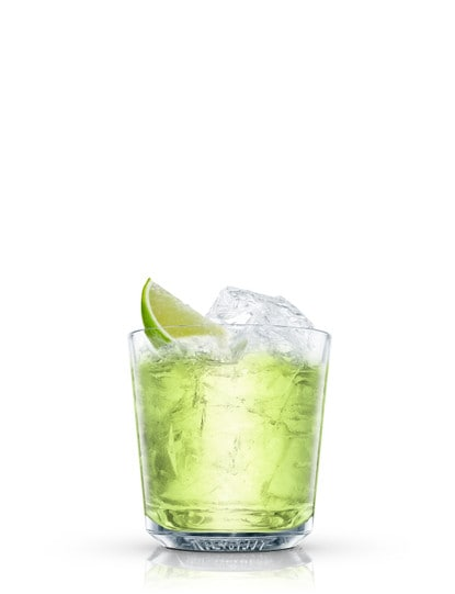 chelsea vodka gimlet against white background