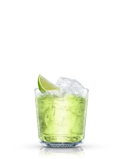 chelsea vodka gimlet against white background