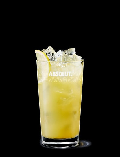 Absolut Vanilia with Cloudy Apple Juice