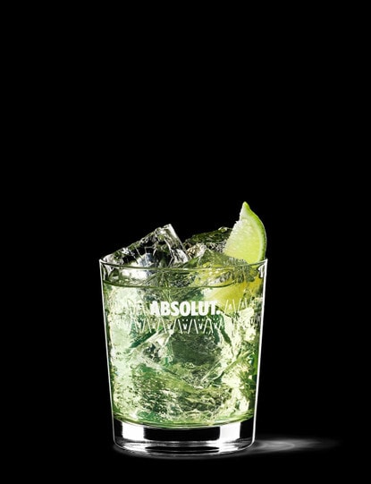 absolut vodka gimlet