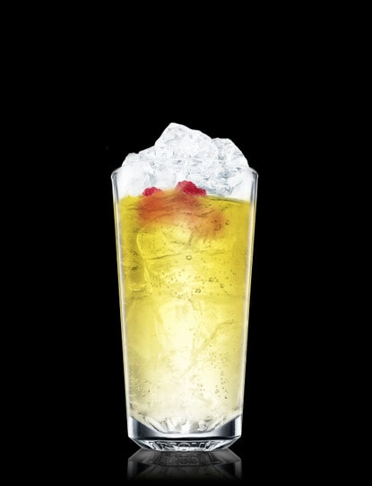 Absolut Raspberri with Lemon-lime Soda