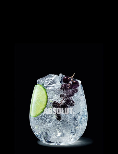 absolut kurant soda