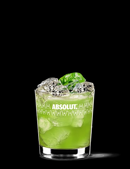 Vodka Basil Smash