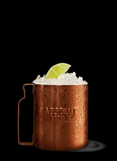 Absolut Apple Juice Mule
