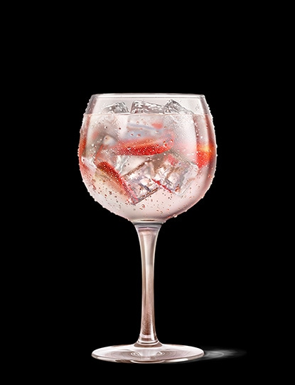 Absolut Juice Strawberry and Tonic