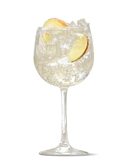 Absolut Juice Apple and Tonic