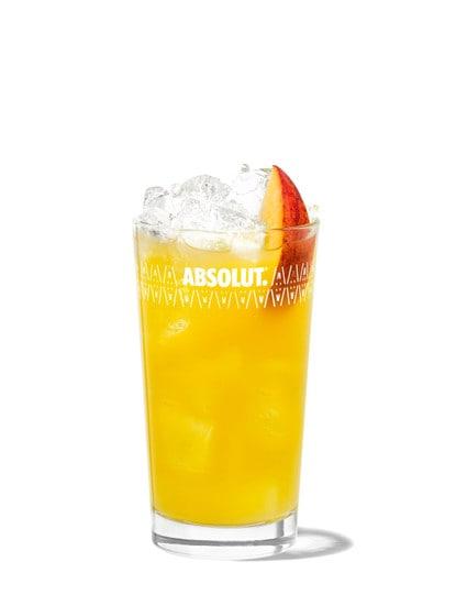 Fuzzy Navel Recipe Absolut Drinks