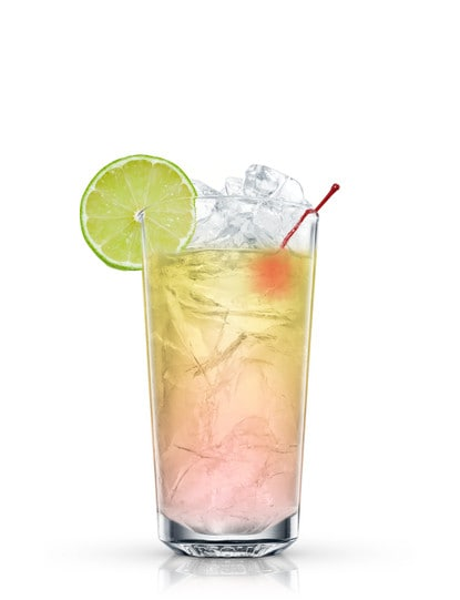 absolut cherrys cooler against white background