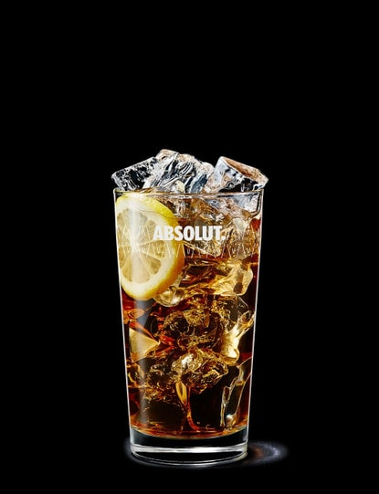 absolut apeach with iced tea