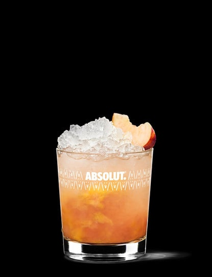 absolut peach crush