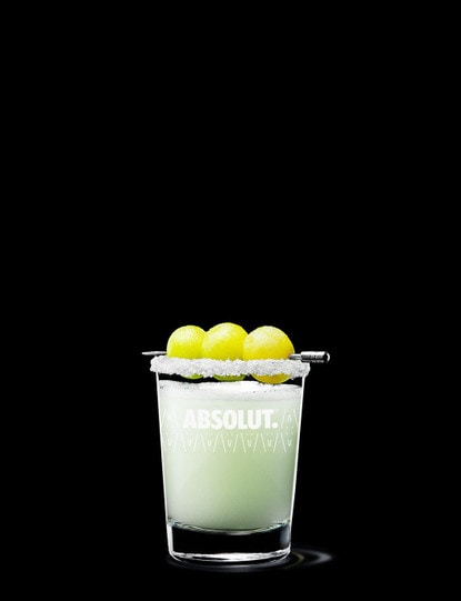 absolut grape drop