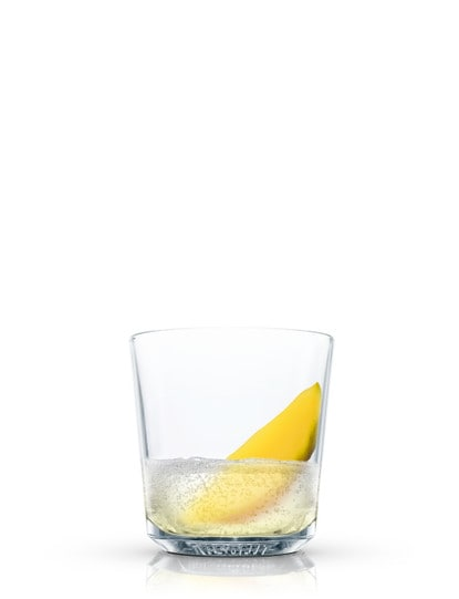 absolut mango fizz against white background