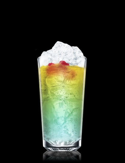 Absolut Raspberri Blue Bay