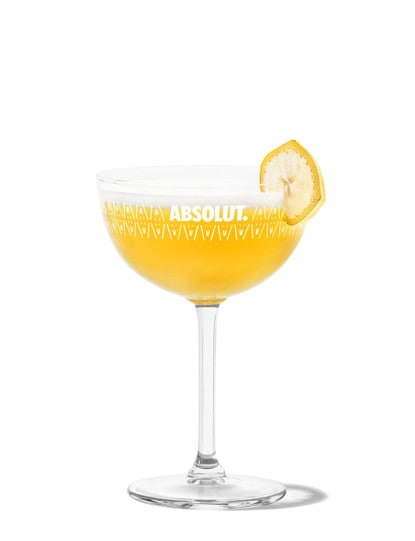 Yellow Bird Martini