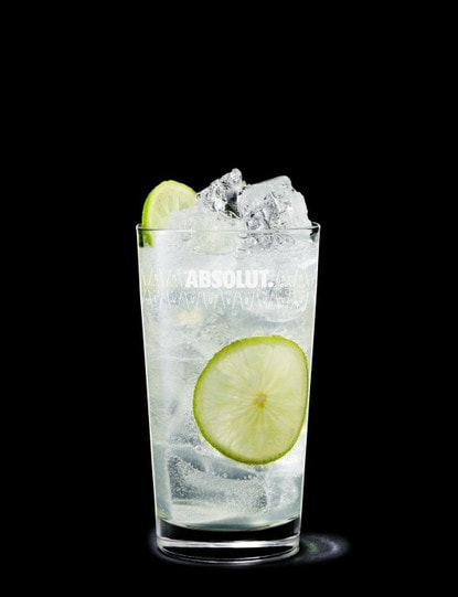 Absolut Cilantro Rickey