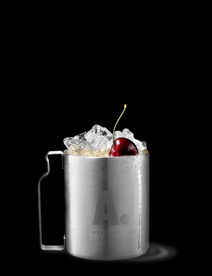 Absolut Cherry Mule