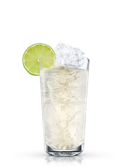 absolut jamaican mule against white background