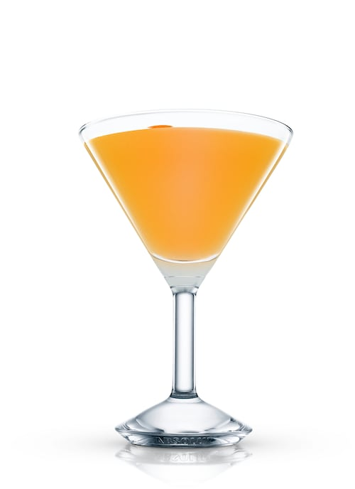 pica cocktail against white background