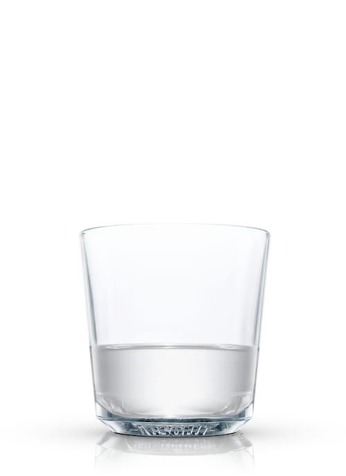 hot gin sling against white background