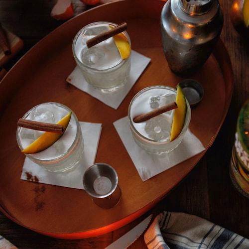 absolut cinnamango sour in environment