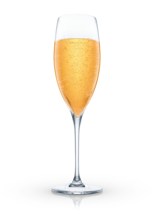 champagne tropicale against white background