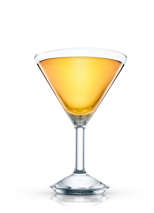granny's martini against white background