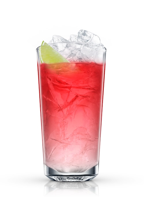 absolut cranberry against white background