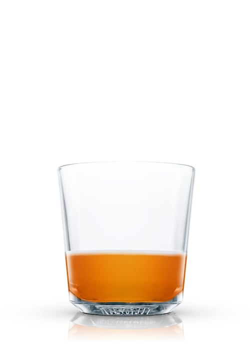 whisky flip against white background