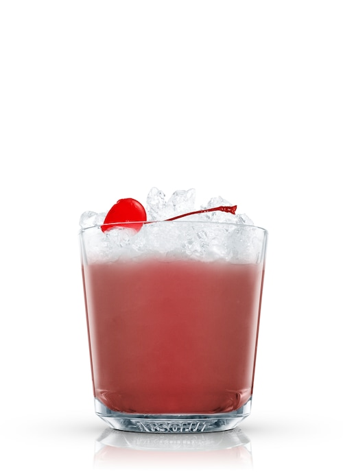 absolut cherry crush against white background
