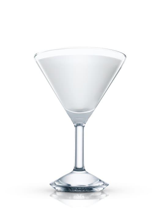 alexander cocktail against white background