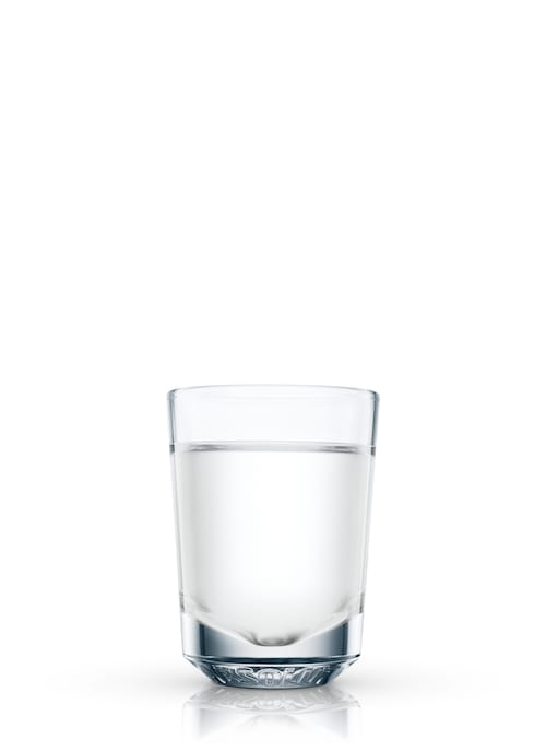absolut peach shooter against white background
