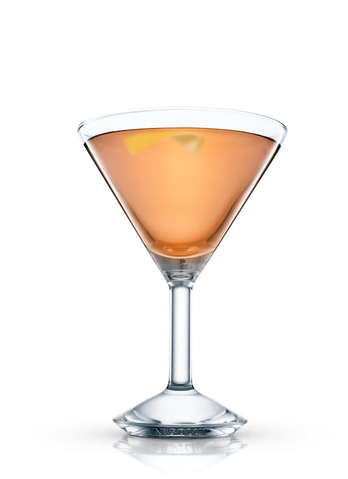 winston martini against white background