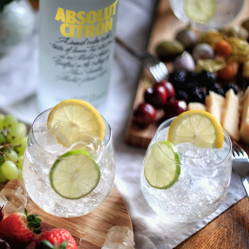absolut citron soda in environment