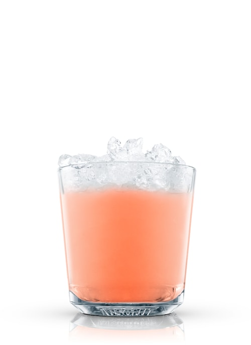 absolut ruby crush against white background
