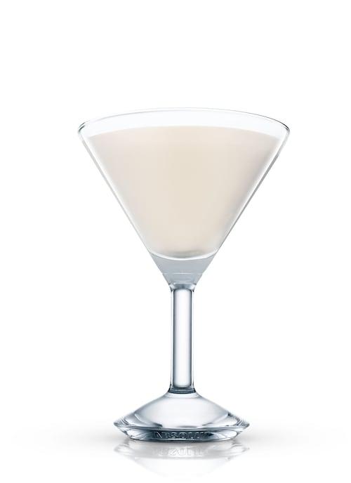 choc & nut martini against white background