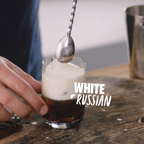 white russian in environment