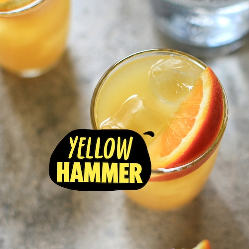 yellowhammer cocktail in environment