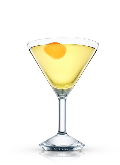 alaska martini against white background